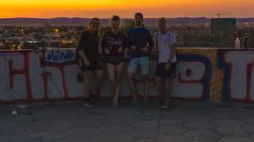 v.l.: Franzi, ich, Moritz, Colin